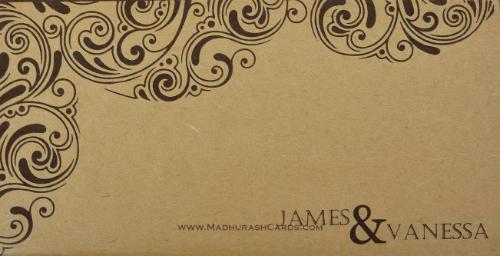 Custom Wedding Cards - CZC-9202 - 3