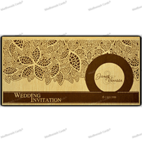 Custom Wedding Cards - CZC-9204