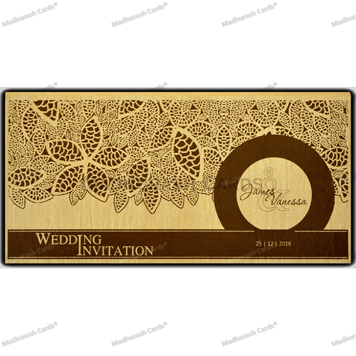 test Custom Wedding Cards - CZC-9204