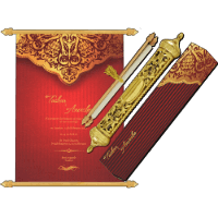 Royal Scroll Invitations - SC-6016