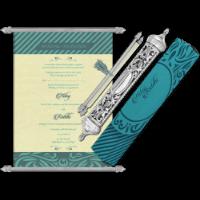 Royal Scroll Invitations - SC-6017