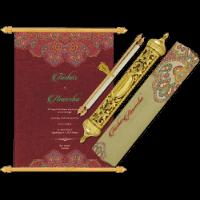 Royal Scroll Invitations - SC-6018