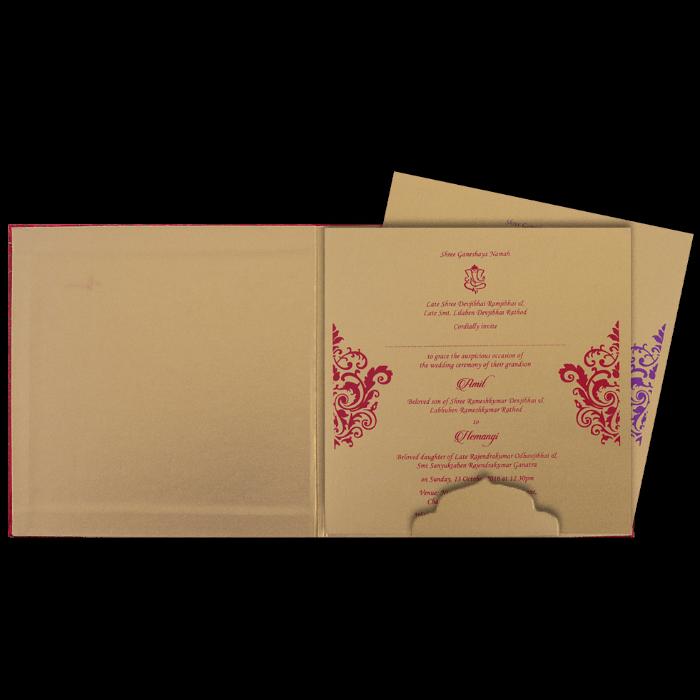 Fabric Wedding Cards - FWI-14035I - 3