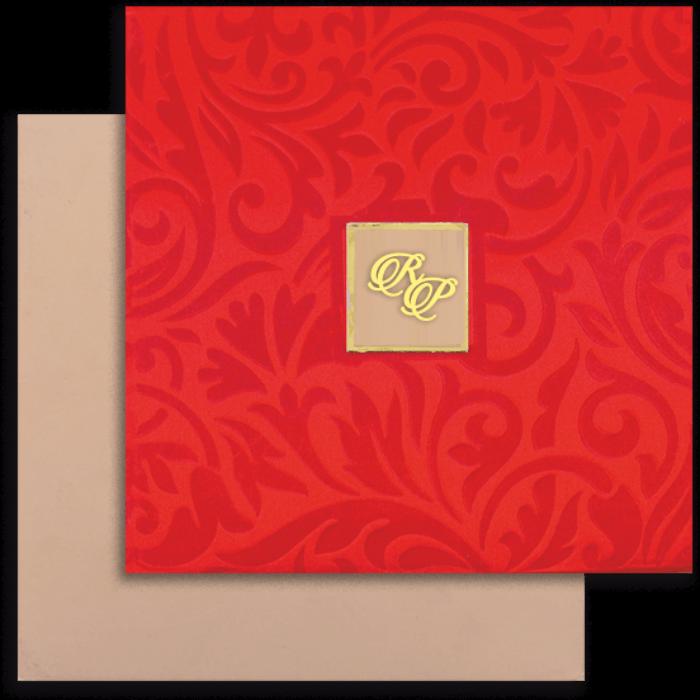test Fabric Wedding Cards - FWI-14032I