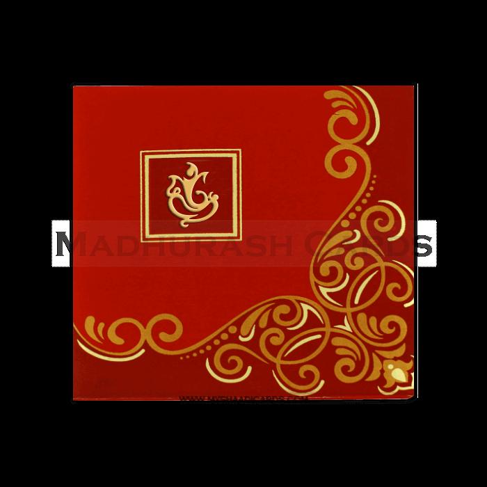 test Fabric Wedding Cards - FWI-7407G
