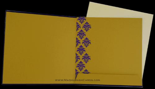 Custom Wedding Cards - CZC-9039BG - 4