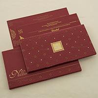 Hard Bound Wedding Cards - HBC-4021