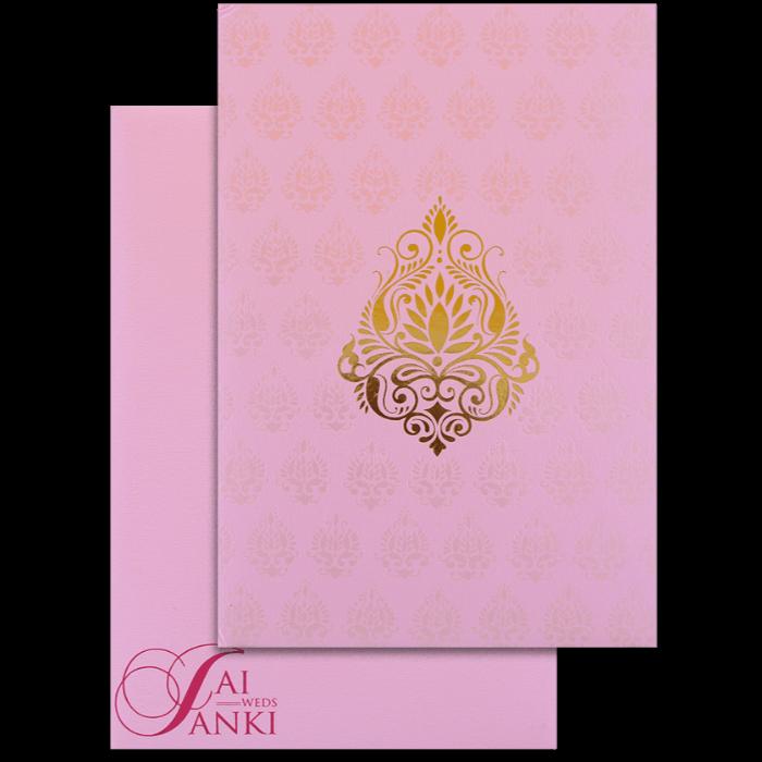 test Hard Bound Wedding Cards - HBC-14049