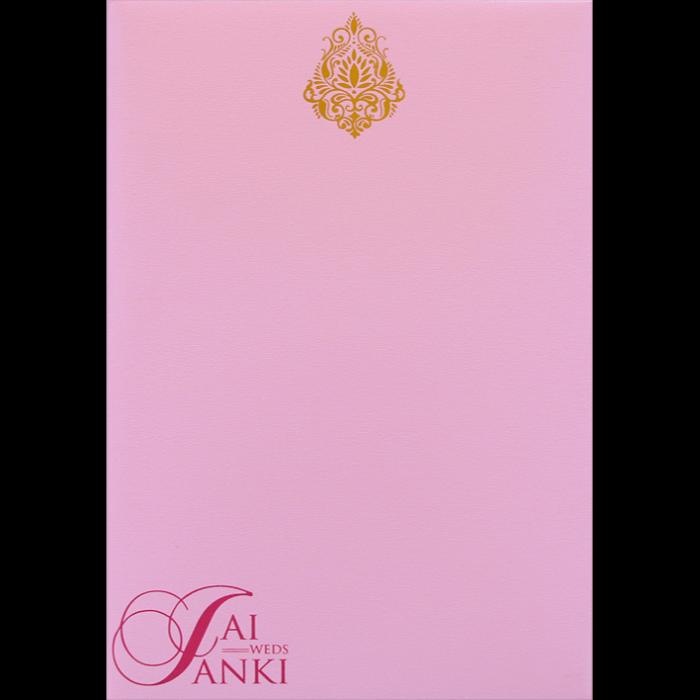 Hard Bound Wedding Cards - HBC-14049 - 4