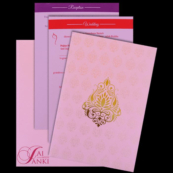 Hard Bound Wedding Cards - HBC-14049 - 5