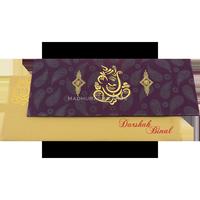 Fabric Wedding Cards - FWI-15128