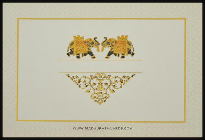 Hindu Wedding Cards - HWC-15065