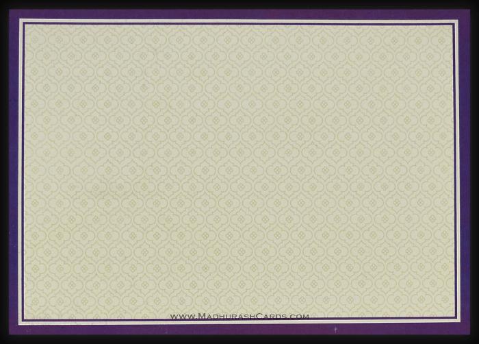 Hindu Wedding Cards - HWC-15065 - 4