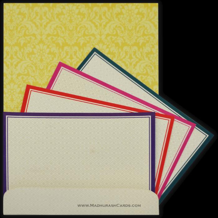 Hindu Wedding Cards - HWC-15065 - 5