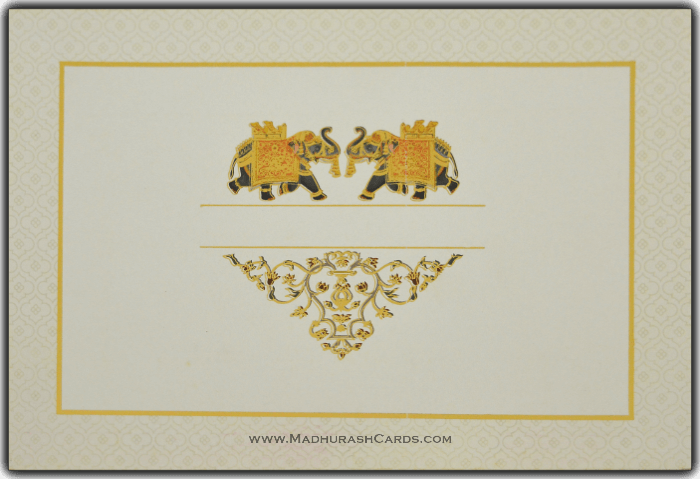 Muslim Wedding Cards - MWC-15065 - 2