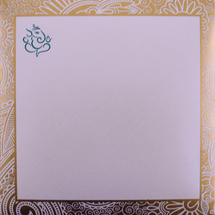 Muslim Wedding Cards - MWC-7311 - 3