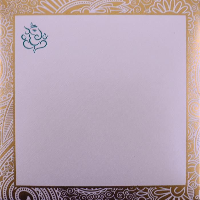 Muslim Wedding Cards - MWC-7311 - 3