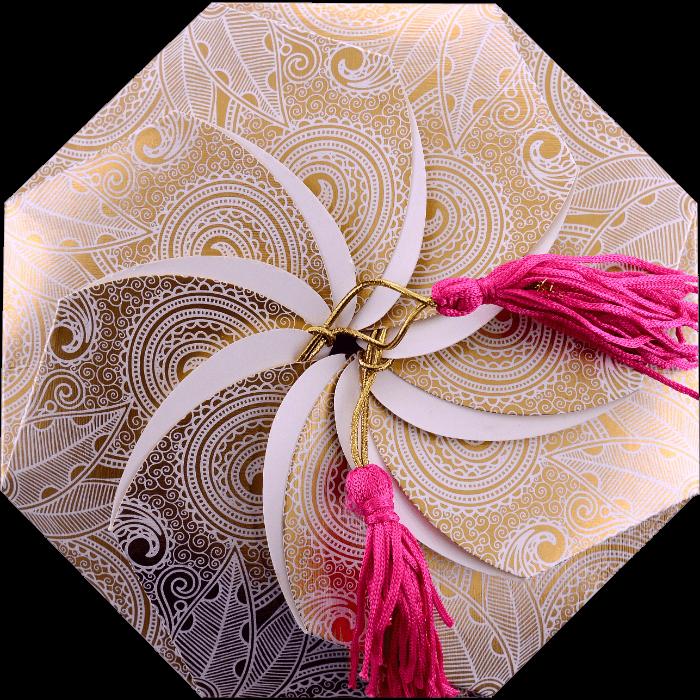 Hindu Wedding Cards - HWC-7311
