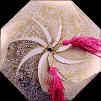 Sikh Wedding Cards - SWC-7311