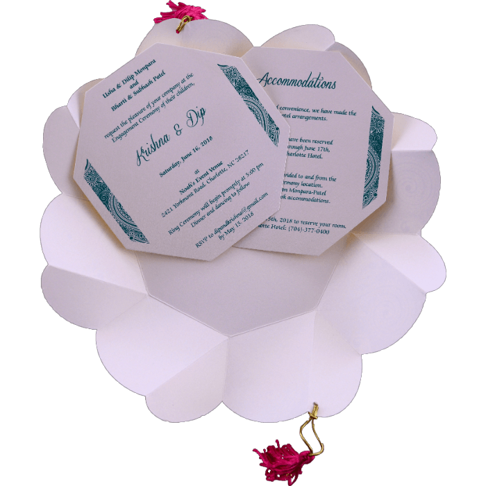 Bar & Bat-Mitzvah Invitations - BBMC-7311 - 4