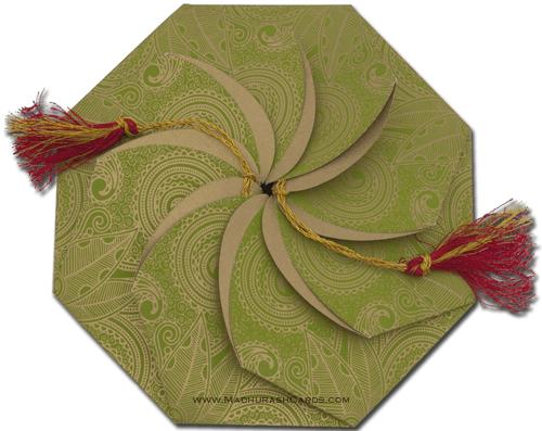 Sikh Wedding Cards - SWC-7312