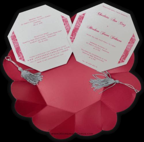 Hindu Wedding Invitations - HWC-7316 - 4