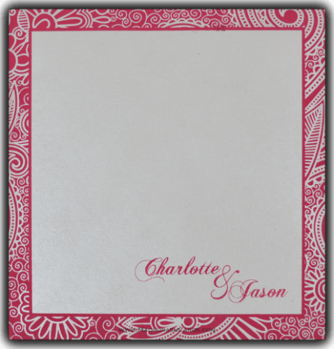 Christian Wedding Cards - CWI-7316 - 3