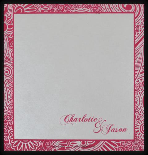 Designer Wedding Cards - DWC-7316 - 3