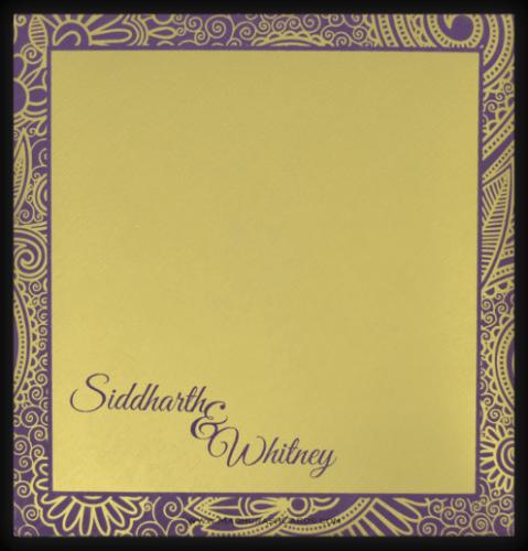 Hindu Wedding Cards - HWC-7317 - 3