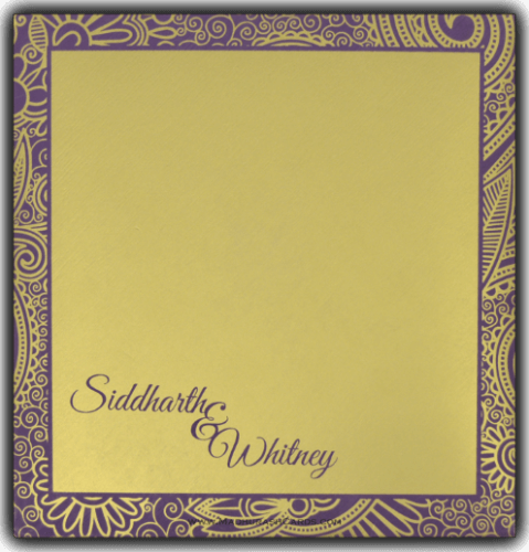 Sikh Wedding Cards - SWC-7317 - 3