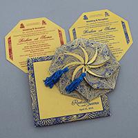 Sikh Wedding Cards - SWC-7321BG