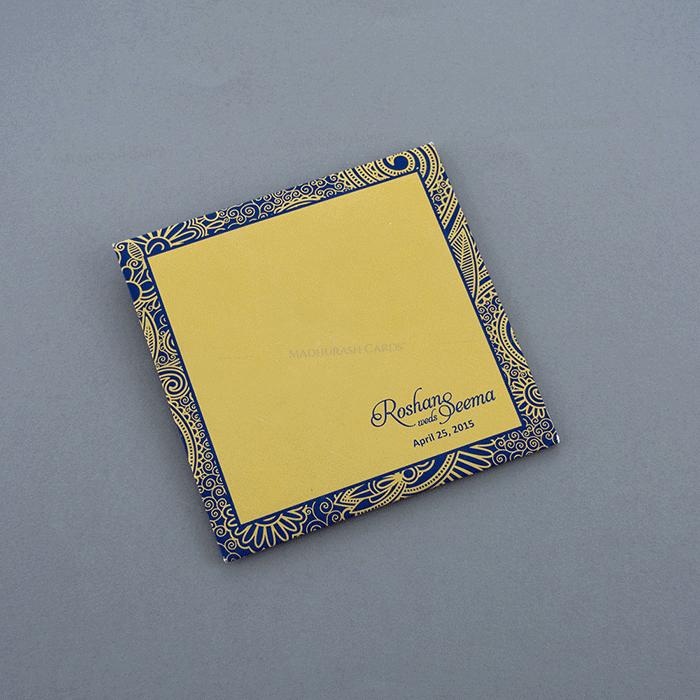 Designer Wedding Cards - DWC-7321BG - 3
