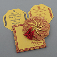 Designer Wedding Cards - DWC-7321RG