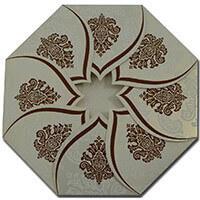 Muslim Wedding Cards - MWC-9081CC