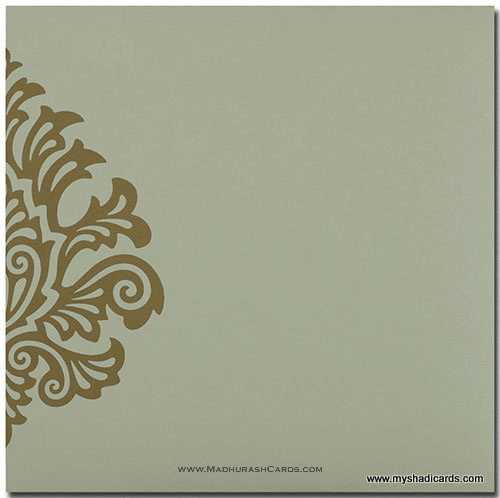 Muslim Wedding Cards - MWC-9081CC - 3