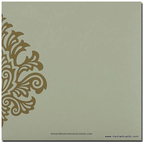Designer Wedding Cards - DWC-9081CC - 3