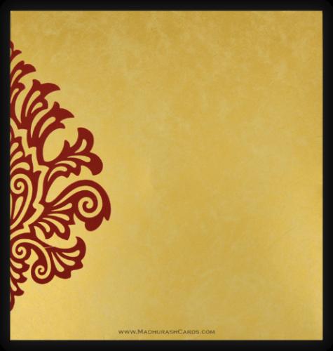 Hindu Wedding Cards - HWC-9081MG - 3