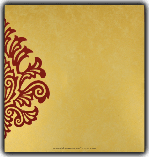Designer Wedding Cards - DWC-9081MG - 3