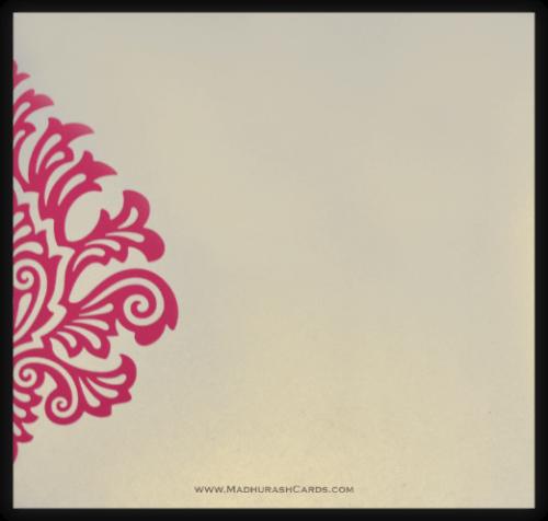 Muslim Wedding Cards - MWC-9081PC - 3