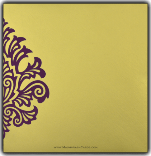 Hindu Wedding Cards - HWC-9081VG - 3