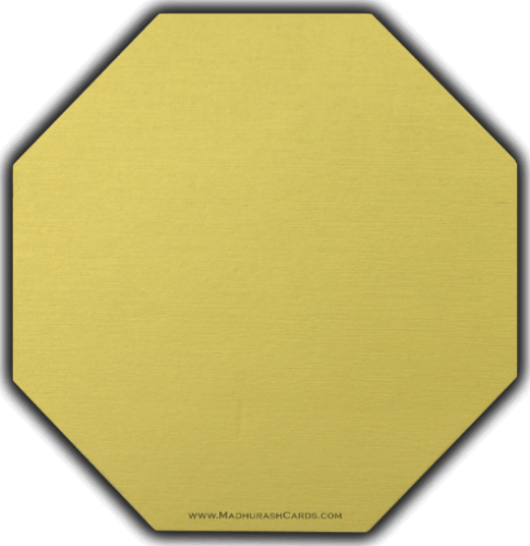 Designer Wedding Cards - DWC-9081GG - 5