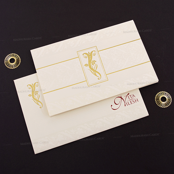 Hindu Wedding Cards - HWC-15242 - 2