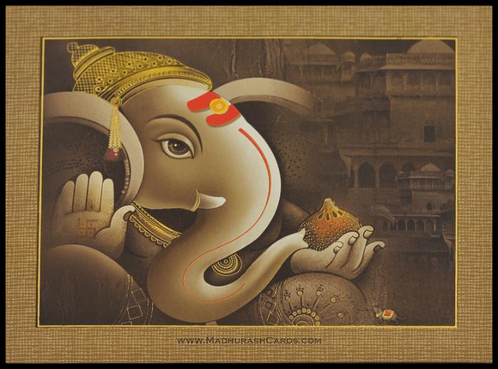 Hindu Wedding Invitations - HWC-15047