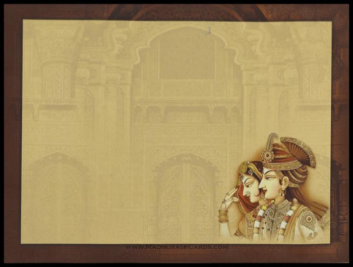 Hindu Wedding Invitations - HWC-15047 - 3