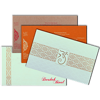 Hard Bound Wedding Cards - HBC-15094