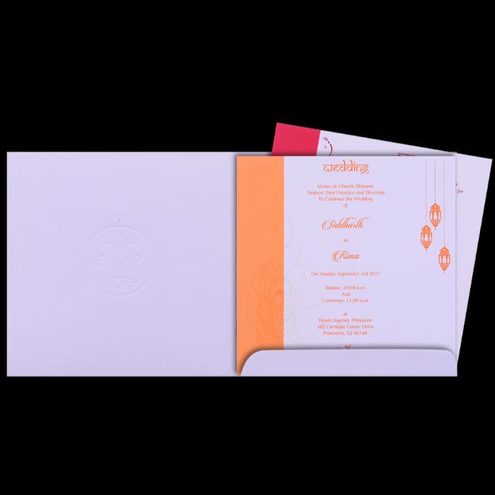 Hindu Wedding Cards - HWC-15268 - 3