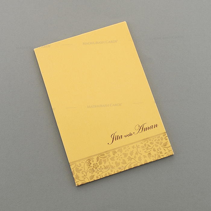 Hindu Wedding Cards - HWC-15075 - 3