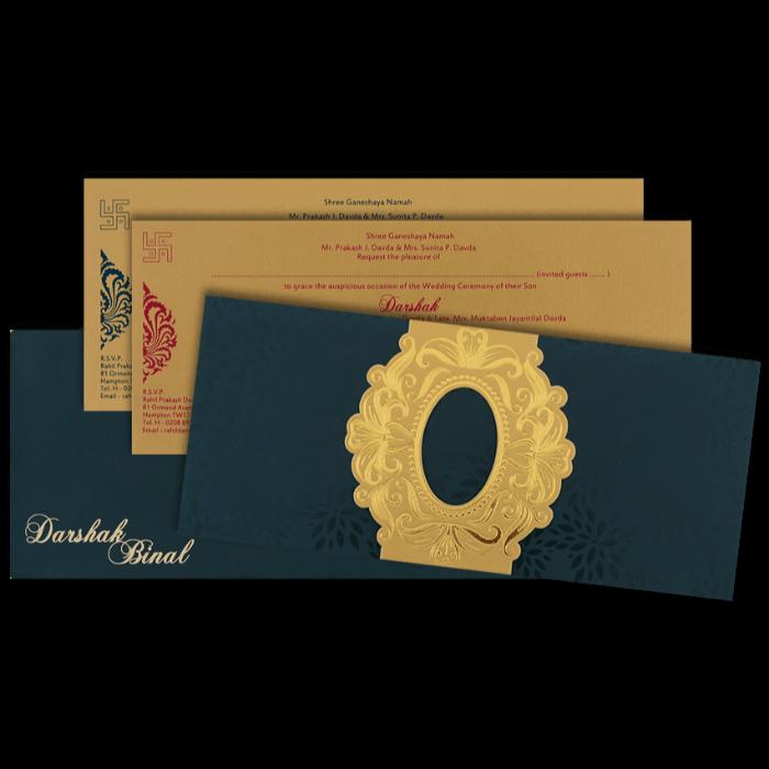 Muslim Wedding Cards - MWC-15117 - 5