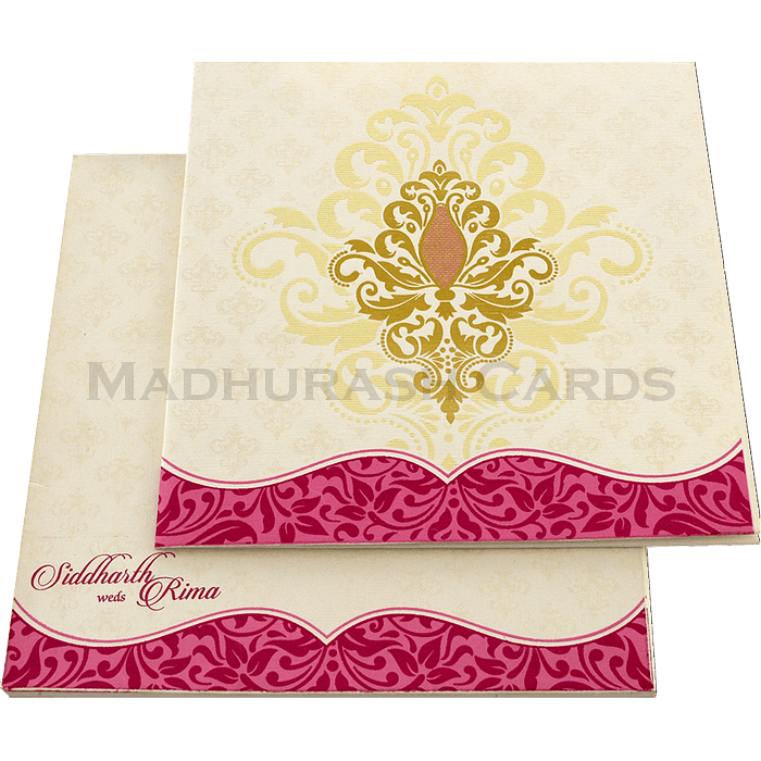 Hindu Wedding Cards - HWC-15152 - 2