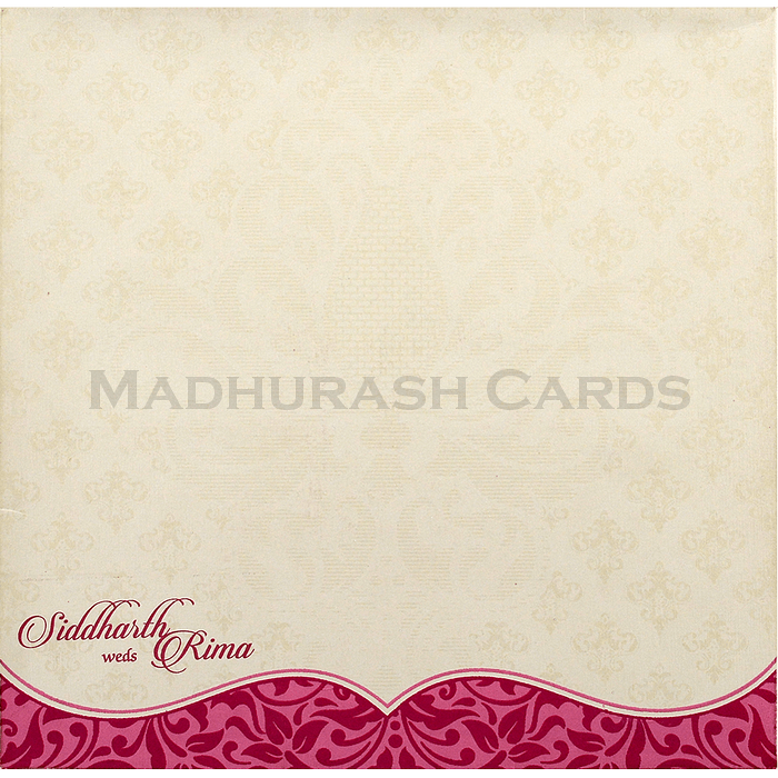 Hindu Wedding Cards - HWC-15152 - 3